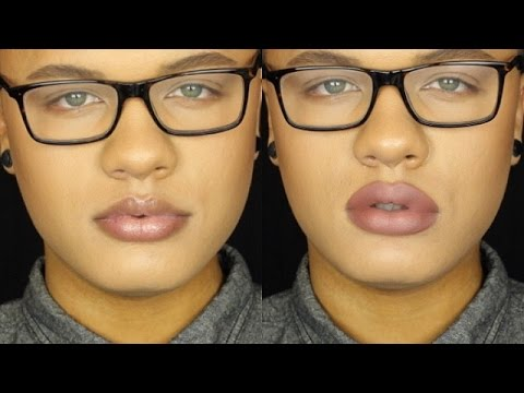 How To Fake Bigger Lips | Overlining Your Lips/Lip Care (Updated)