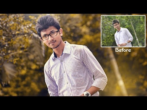 Background color change & soft light retouching I Photoshop cc 2015 advanced