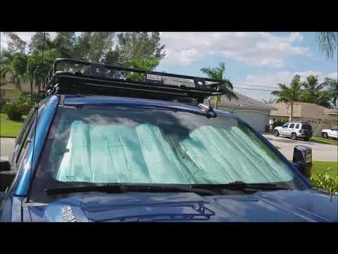 Roof Rack install 2500Hd Smittybilt Defender Rack How To Gmc Chevy 2014 2015 2016 2017