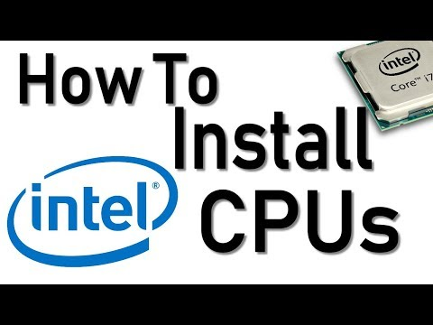 How To Install An Intel CPU