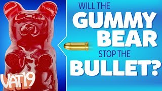 Will It Stop a Bullet? | Shooting Gummy Bears, Feisty Pets, Putty, & more!