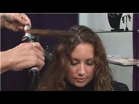Curly Hair Tips : How to Use a Curling Iron to Curl Hair