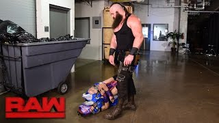 Braun Strowman lays waste to Team Red Superstars: Raw, April 17, 2017