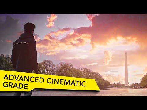 Advanced Cinematic Color Grading Tutorial - DSLR Filmmaking