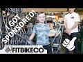 I Got Sponsored By Fit Bike Custom 14 Bike Build At The SM Factory