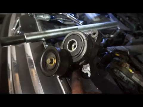 honda Belt Tensioner Removal and Replace for CRV Accord Element Civic