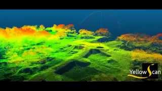 yellowScan:Lidar & drone used in archeology - Lidar & drone en archéologie