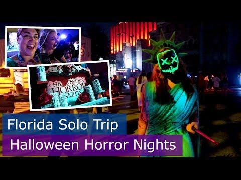 Day 7 | Halloween Horror Nights Houses | Walt Disney World solo trip | Florida 2017