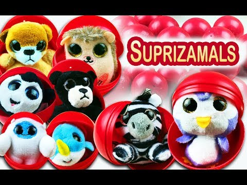 Collect stuffed animals with SUPRIZAMALS. Which one you will get? So mush FUN. Let's Play Kids.