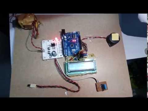Temperature ,Humidity Indicator Control using Arduino