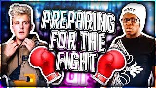 Preparing Deji for Jake Paul