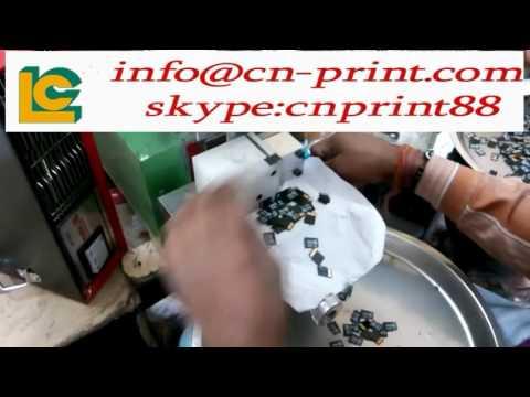 SD card memory card pad printing machine