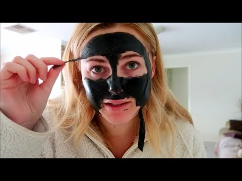 TRYING FACEBOOK AD $5 BLACK FACE MASK DOES IT WORK