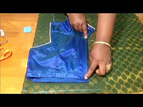 Basic blouse cutting in easy method