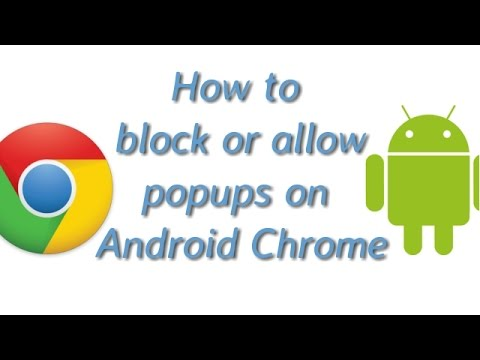 How To Block Pop Ups on Chrome on Android