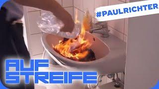 Brandstiftung auf der Polizei-Wache: Was verheimlicht er? | #PaulRichterTag | Auf Streife | SAT.1