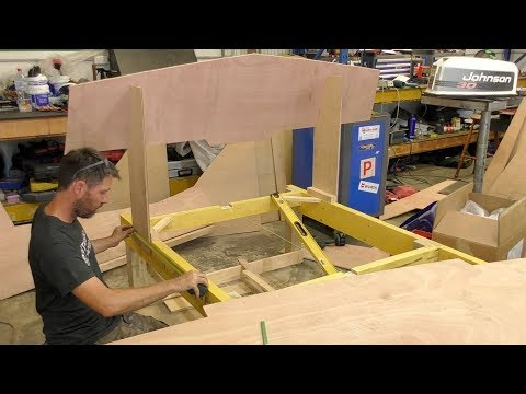 Setting the bulkheads