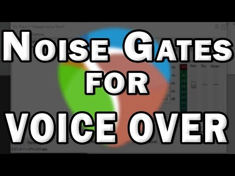 Using a Noise Gate for Voice Over