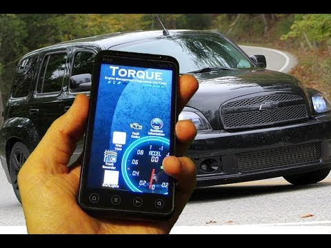 Torque App for Android. See your car data