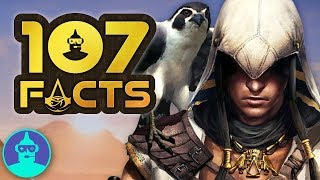 Assassin's Creed Origins - Time Shifting Powers (+107 Facts YOU Should KNOW!!! | The Leaderboard