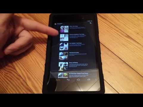 Amazon Prime Music Player