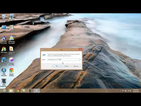 Shutdown Windows 8 with a Timer (No Apps or Installs needed)
