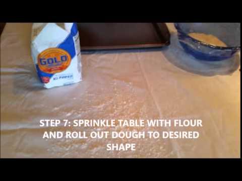 How to Make a Salt Dough Handprint