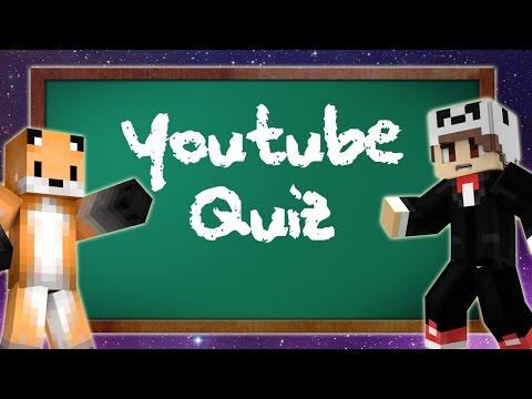 I DO NOT KNOW YOUTUBERS - Minecraft Youtuber + Pokemon Quiz W/Theorionsound
