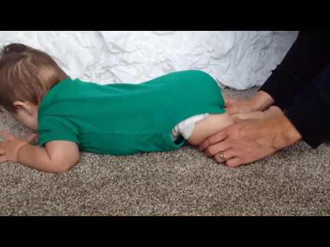 Baby exercises for crawling