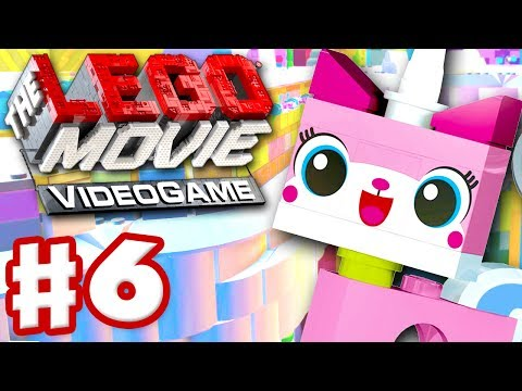 The LEGO Movie Videogame - Gameplay Walkthrough Part 6 - Unikitty (PC, Xbox One, PS4)