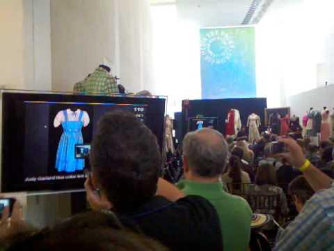 Dorothy's dress sold for $910,000