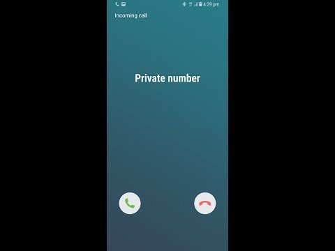 How To Call As Private Number(Unknown Number) On Samsung Galaxy S8/S8 Plus