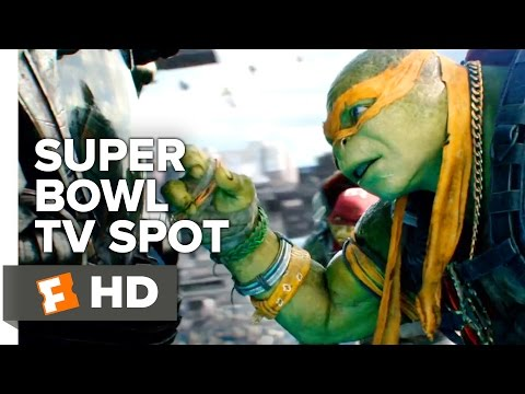 Teenage Mutant Ninja Turtles Out of the Shadows Super Bowl Spot 2016 - Megan Fox Movie HD
