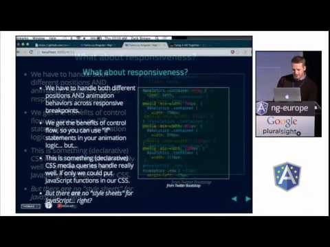 Famo.us Angular by Zack Brown at ng-europe 2014
