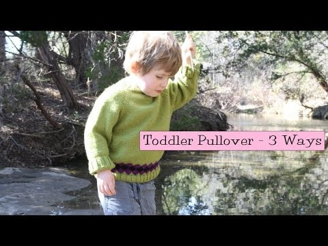 Easy Toddler Pullover - 3 Ways