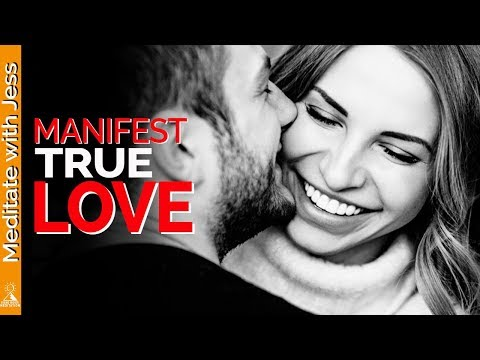 ATTRACT LOVE Law of Attraction | FIND YOUR SOUL MATE | Guided Visualisation Meditation.