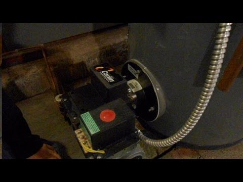 How To Bleed The Oil Line For Oil-Fired Furnace or Hot Water Heater Burner by Aiman