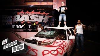 Vehicular Demolitions: WWE Top 10