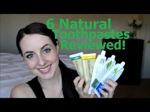 Natural Toothpaste Reviews - Best Natural Toothpastes, Flouride Free