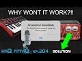 Accessory Unavailable │ Problems connecting USB stuff  to iPad and iPhone - haQ attaQ 204