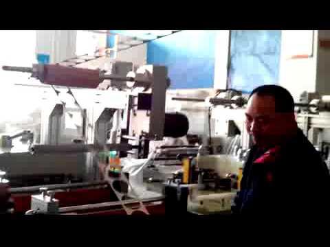 Roll Capliner Gasket Die Cutting Machine For Through Cut With Conveyor Belt