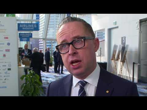 Alan Joyce at IATA 2018