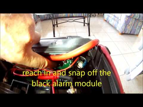 Stop Low Voltage beep alarm on car camping jump starter