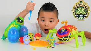New Treasure X Aliens Ultimate Dissection and Ooze Egg Surprise Fun CKN Toys