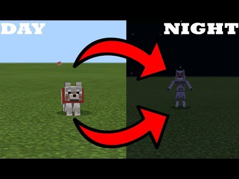 How To Spawn a Werewolf in MCPE (Minecraft PE)