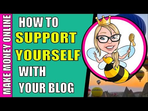 Make More Money Online: Support Yourself With Blogging and Product Creation