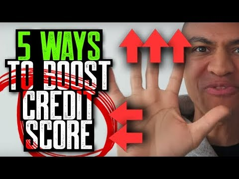 5 WAYS TO BOOST SCORE FAST || REPAIR YOUR CREDIT 30 DAYS || TRADELINES