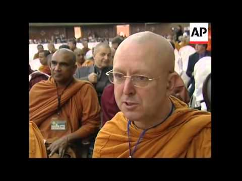 Thousands of Buddhist monks gather for world summit