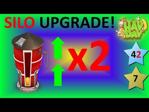 HAY DAY - DOUBLE SILO UPGRADE WITHIN 1 MINUTE!