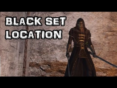 Dark Souls 2 Black Set Location